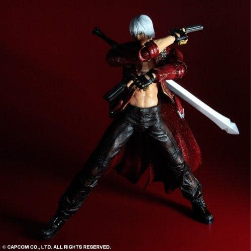 Dante PLAY ARTS Kai  Devil May Cry 3