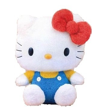 Hello Kitty MJ Blue style Big Size