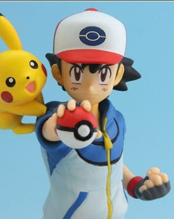 Pokemon Best Wishes PARTNERS FIGURE  Ash & Pikachu