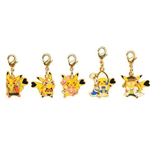 Chained Charm Pikachu x 5