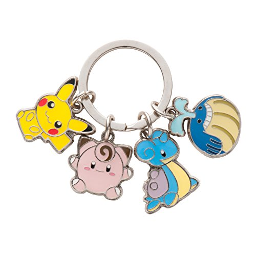 Keychain 4 Pokemon Doll