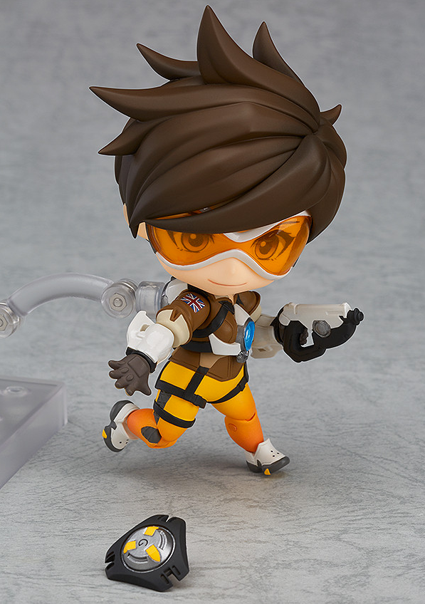 """In STOCK Good Smile Company /""""Tracer/"""" 730 Nendoroid Action Figure Overwatch"""