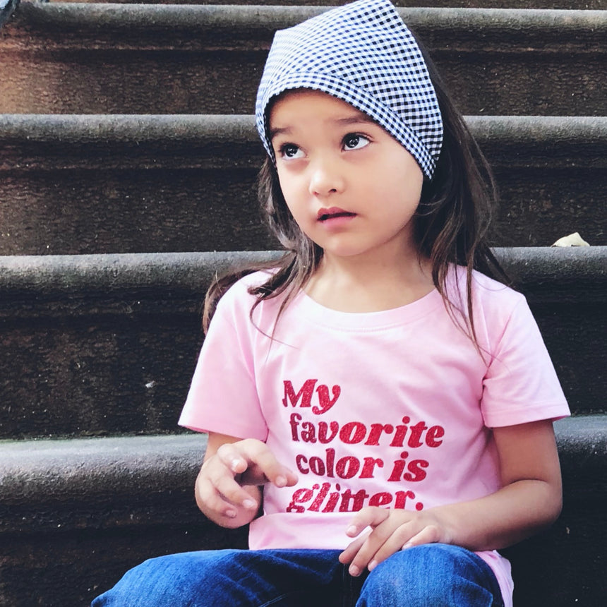 Toddler T-Shirt - My Favorite Color - Pink
