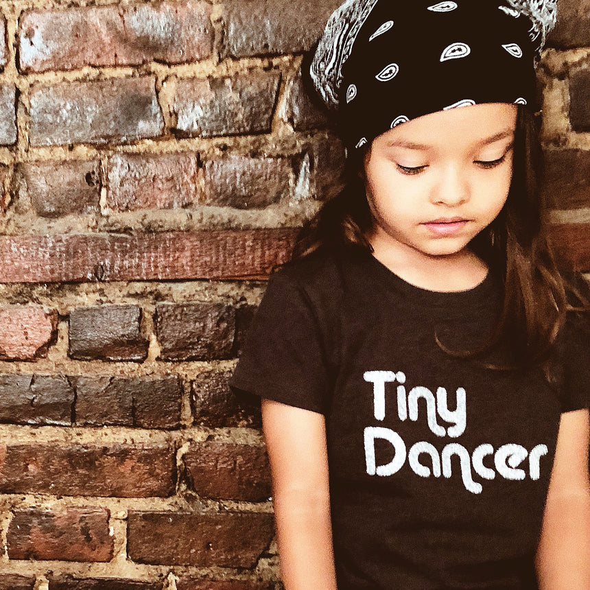 Toddler T-Shirt - Tiny Dancer - Charcoal