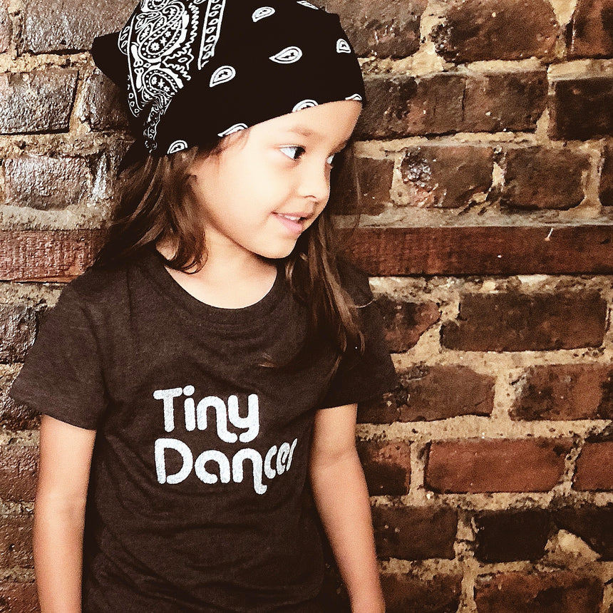 Kid's T-Shirt - Tiny Dancer - Charcoal