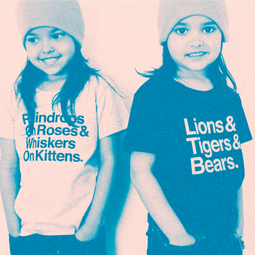 Toddler T-Shirt - Lions & Tigers & Bears - Charcoal