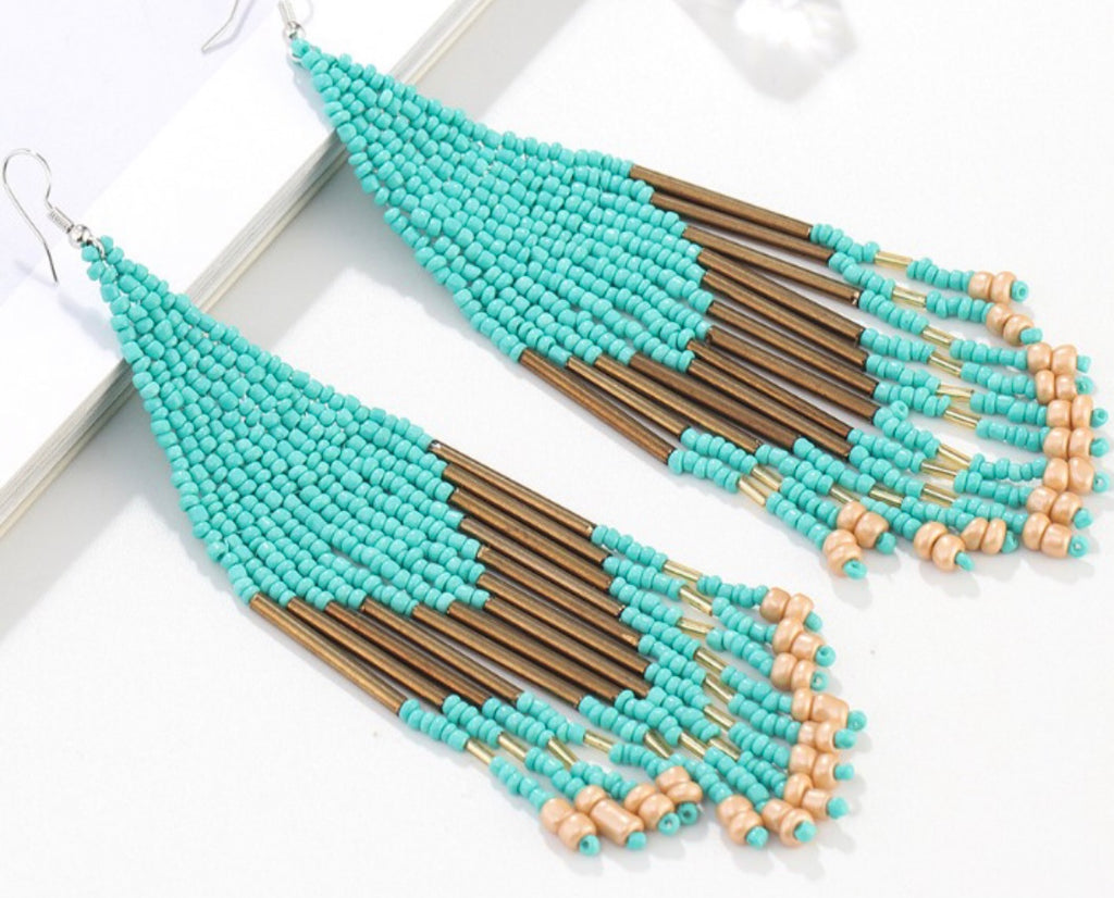 The Beaded Dream Earrings