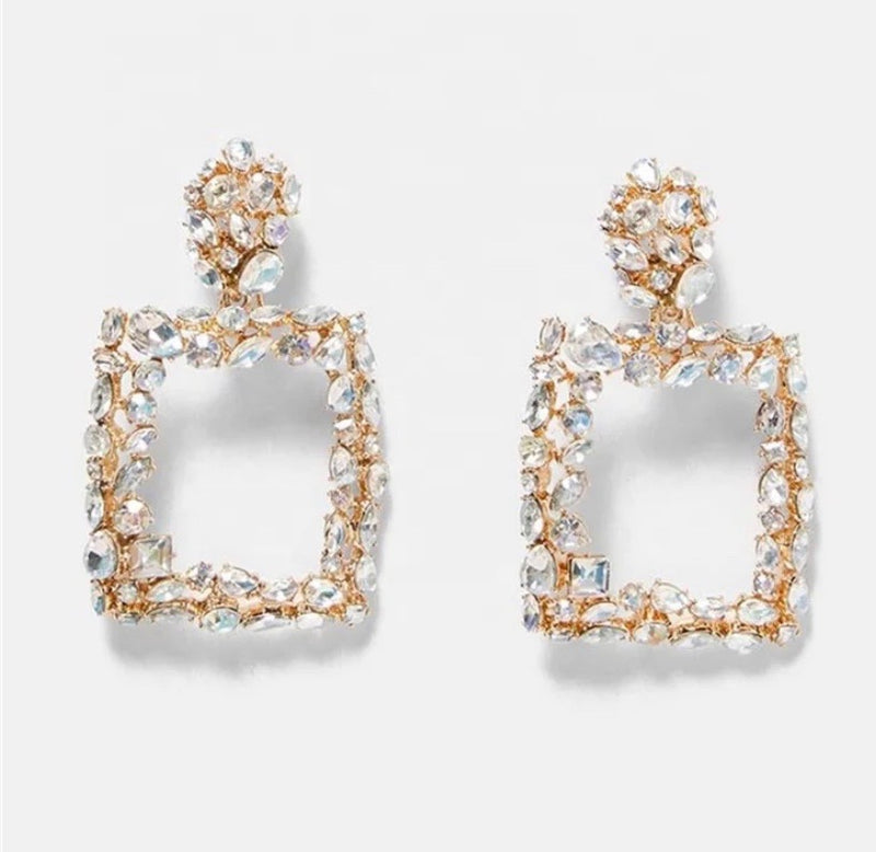 Shine Bright Square Earrings