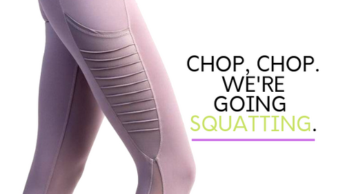 Best Leggings for Squats : Meet Amari Chopper Legging