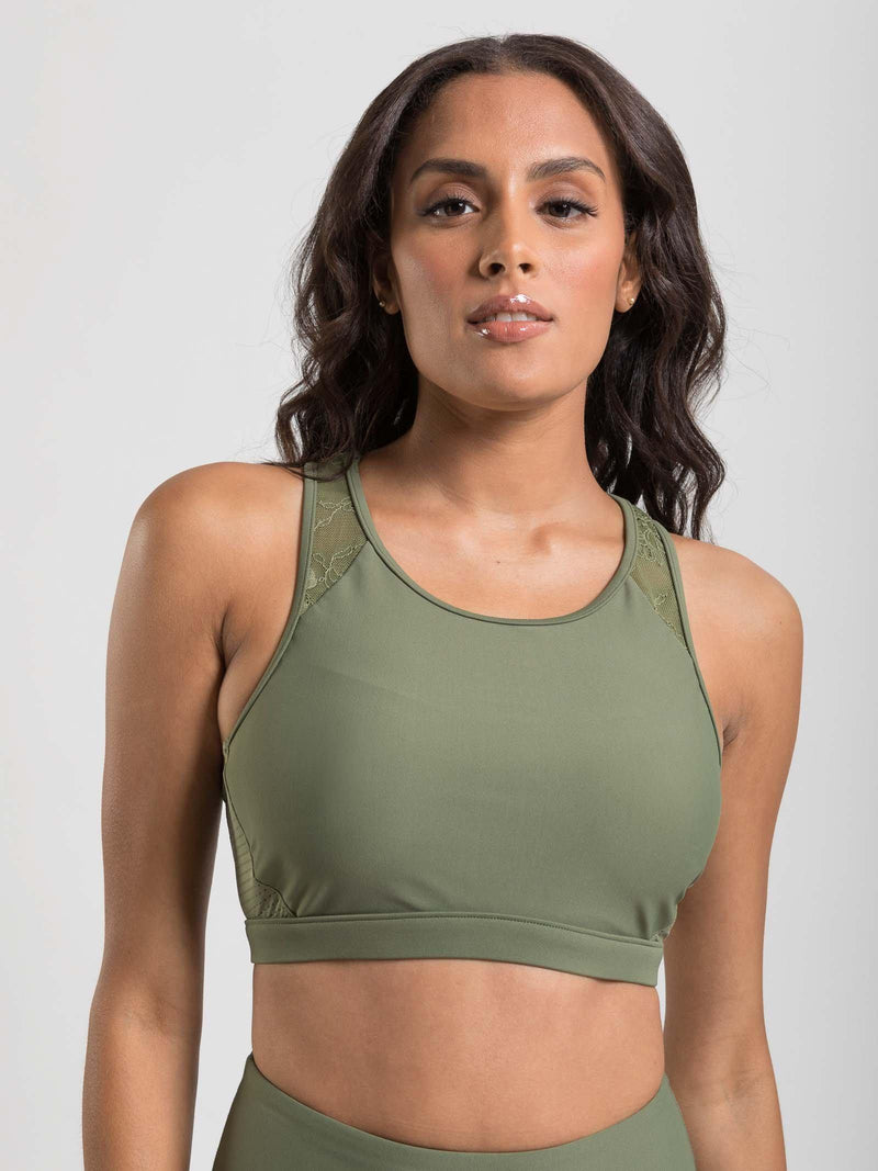 high intensity spots bra