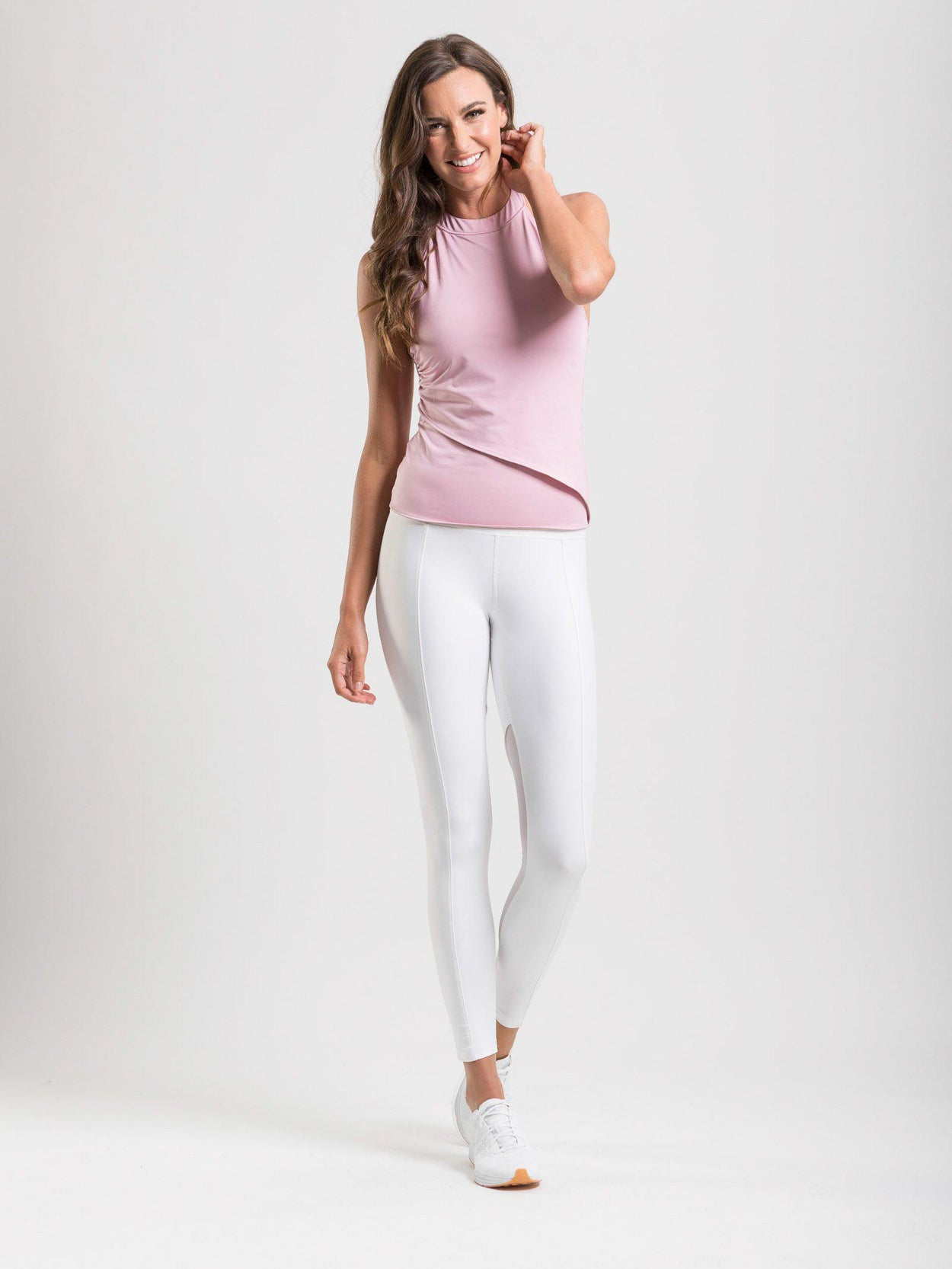 The Edge Tank in Blush - Workout Tanks, Tops and Activewear for Women