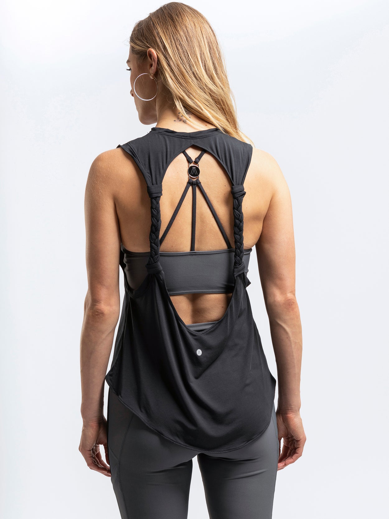 Twisted tank workout tank tops for women by Amari Active
