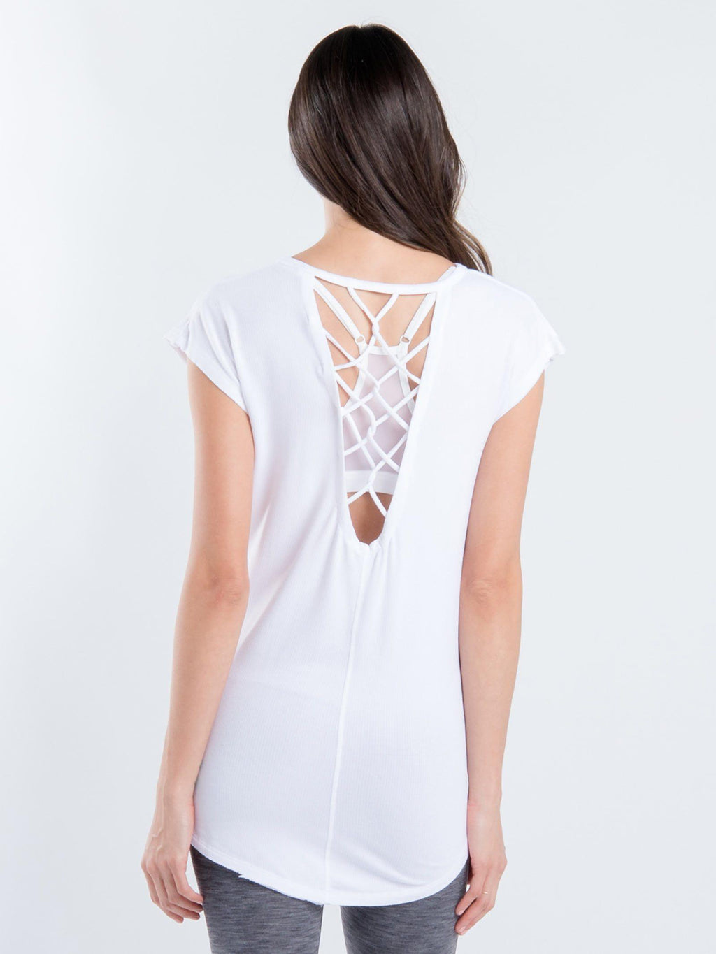 Tangled Short Sleeve Top