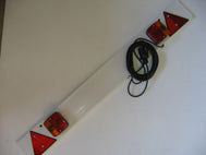 12 VOLT TRAILER BOARD-4 METRES CABLE