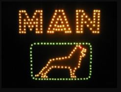 LED light boards - 24Volt MAN