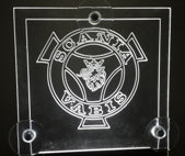 WINDSCREEN LOGO LIGHT SCANIA