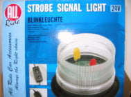 STROBE SIGNAL LIGHT 24VOLT