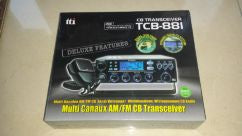 TTI TCB-881 AM/FM 40CHANNEL 12-24VOLT CB RADIO