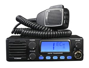TTI TCB-900 AM/FM 40CHANNEL 12-24 VOLT CB WITH FRONT SPEAKER