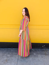 Load image into Gallery viewer, Rainbow Bright Stripes Maxi