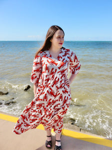 You're my Lobster maxi dress