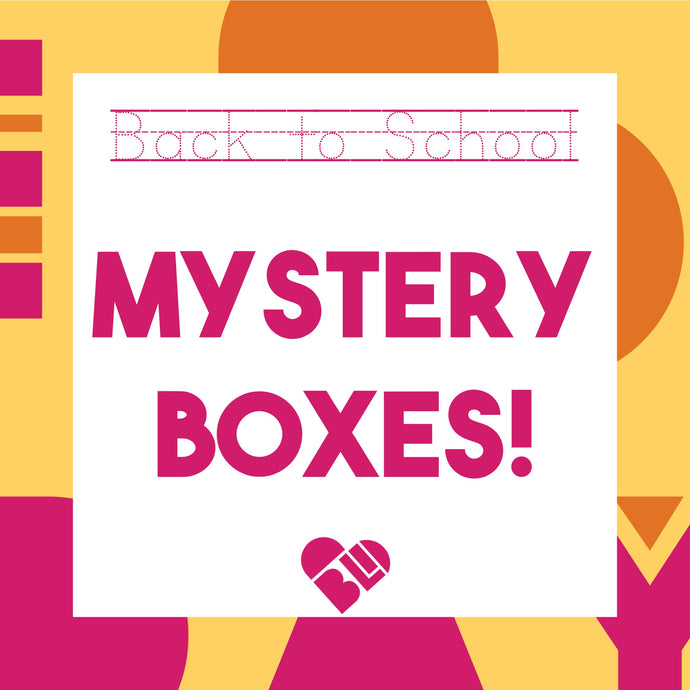 Back to school - Mystery Boxes!