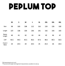 Load image into Gallery viewer, High-low Peplum Top