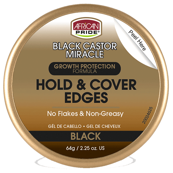 African Pride BCM Hold & Cover Edges (Black)