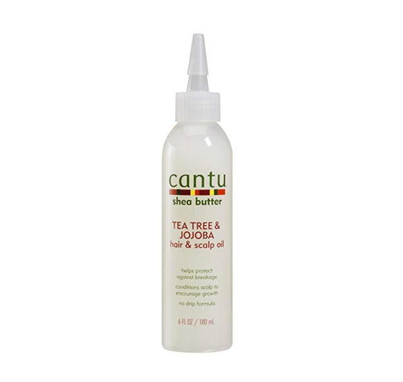 Cantu Tea Tree & Jojoba Oil