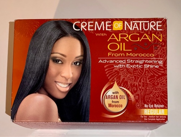 Creme of Nature with Argan Oil Relaxer Kit (Regular)