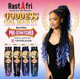 Rastafri Goddess Curl Braiding Hair