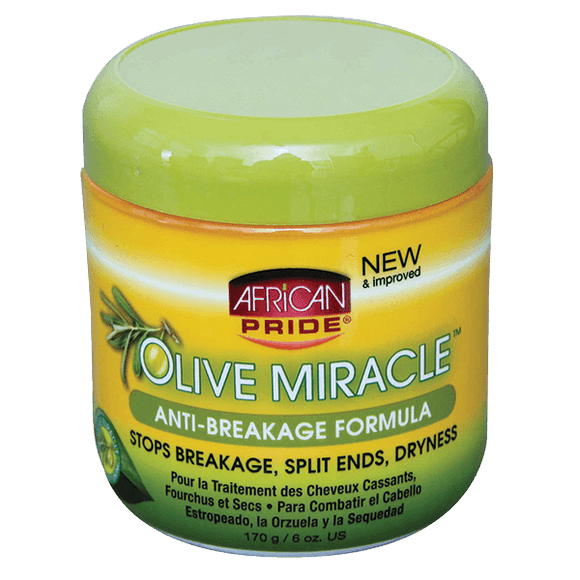 African Pride Olive Miracle Anti-Breakage Crème