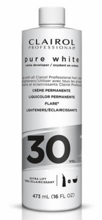 Clairol Pure White Creme Developer (30 Vol)