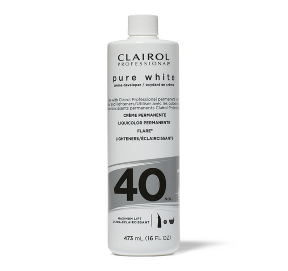 Clairol Pure White Creme Developer (40 Vol)