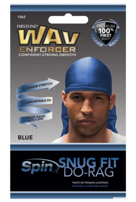 Wav Enforcer Snug-Fit Durag (Nipsey Blue)