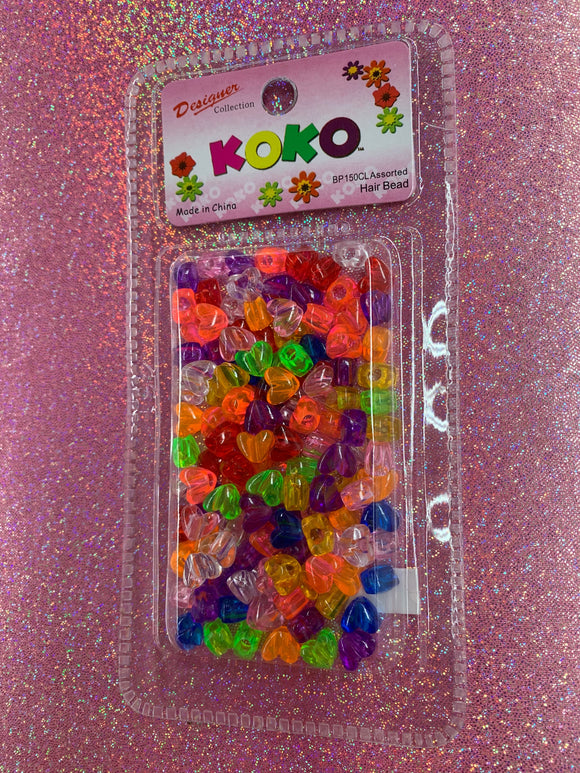 Koko Heart Beads (Multi-color)