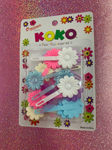 Koko Barrettes (Pastel Mix pack)