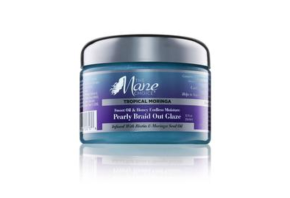 Mane Choice Tropical Moringa Sweet Oil & Honey Braid Out Glaze