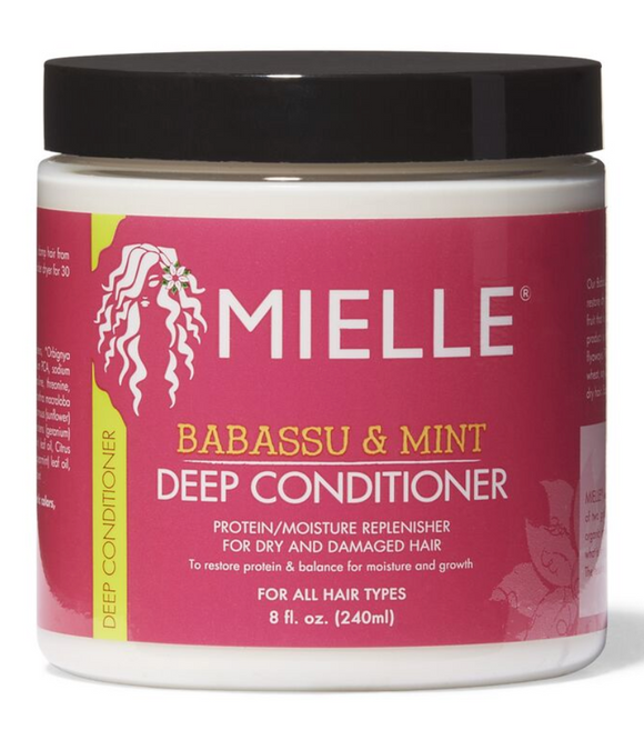 Mielle Babassu Oil & Mint Deep Conditioner