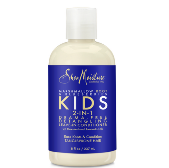 Shea Moisture Kids Marshmallow Root & Blueberries 2-in-1 Detangler & Leave In