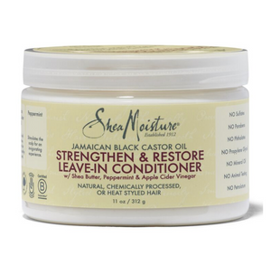 Shea Moisture JBCO Strengthen & Restore Leave-In Conditioner
