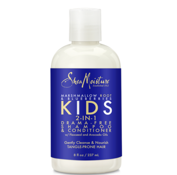 Shea Moisture Kids 2-in-1 Marshmallow Root & Blueberries Shampoo & Conditioner