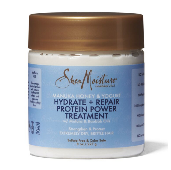 Shea Moisture Manuka Honey & Yogurt Repair Intensive Protein Treatment