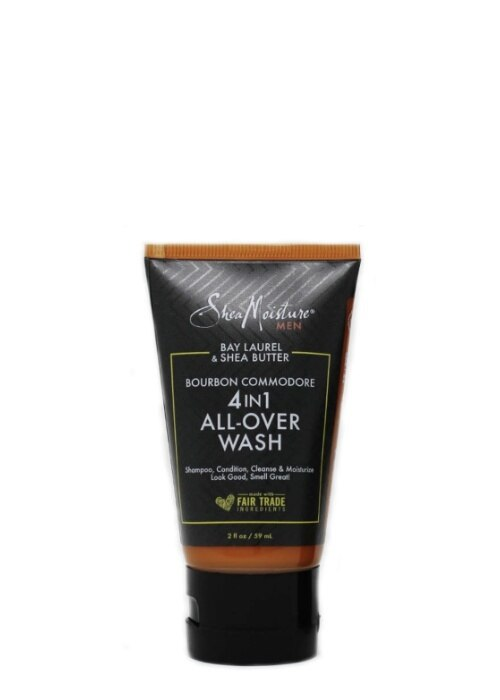 Shea Moisture Men Bourbon Commodore 4 in 1 All-Over Wash