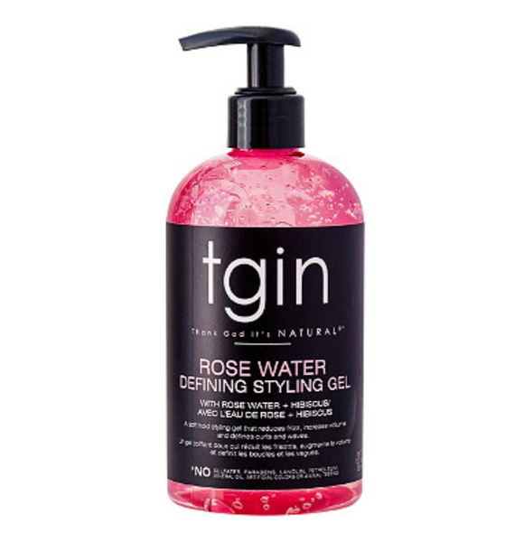 tgin Rose Water Defining Styling Gel