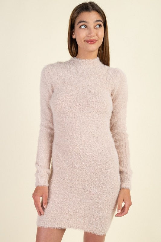 ANGORA SWEATER DRESS