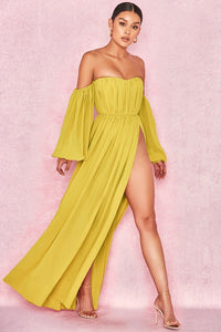 COSIMA CHIFFON MAXI DRESS