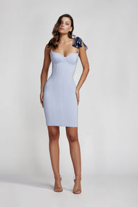 ROCIA DRESS POWDER BLUE