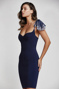 ROCIA DRESS TWILIGHT BLUE