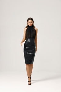 MICAH DRESS BLACK